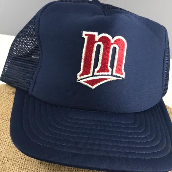 timeless design cec73 ec664 Vintage Minnesota Twins hat 梨 SnapBack. M 5ac63427d39ca28d74d61322